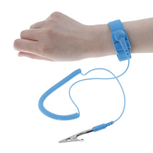 AntiStatic Bracelet Electrostatic ESD Discharge Cable Reusable Wrist Band Straps
