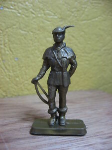 25112095213 Image is loading 1-32-robin-hood-figurine-plastic-monochrome