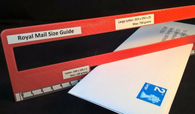Royal mail ppi letter size guide post office postal postage ruler royal mail ppi letter size guide post office postal postage ruler template ebay spiritdancerdesigns Gallery