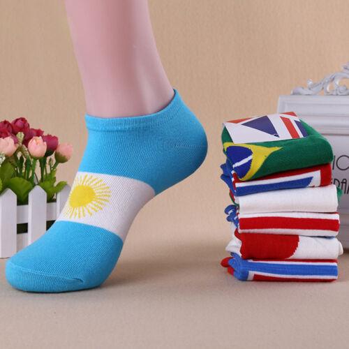 men Ankle Socks Low Cut Crew Soft Sport Color Cotton Socks 1 Pairs HOTUK*`