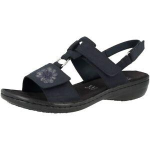 Détails sur Rieker 608D3 14 Femmes Chaussures Anti stress Sandales Loisirs Sandalettes