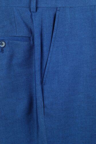 SS45 36S SAVILE ROW Indigo Blue SUIT SEPARATE  36 Short Mens Suits