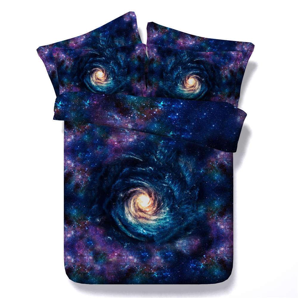 Halo Center Vortex 3D Printing Duvet Quilt Doona Covers Pillow Case Bedding Sets