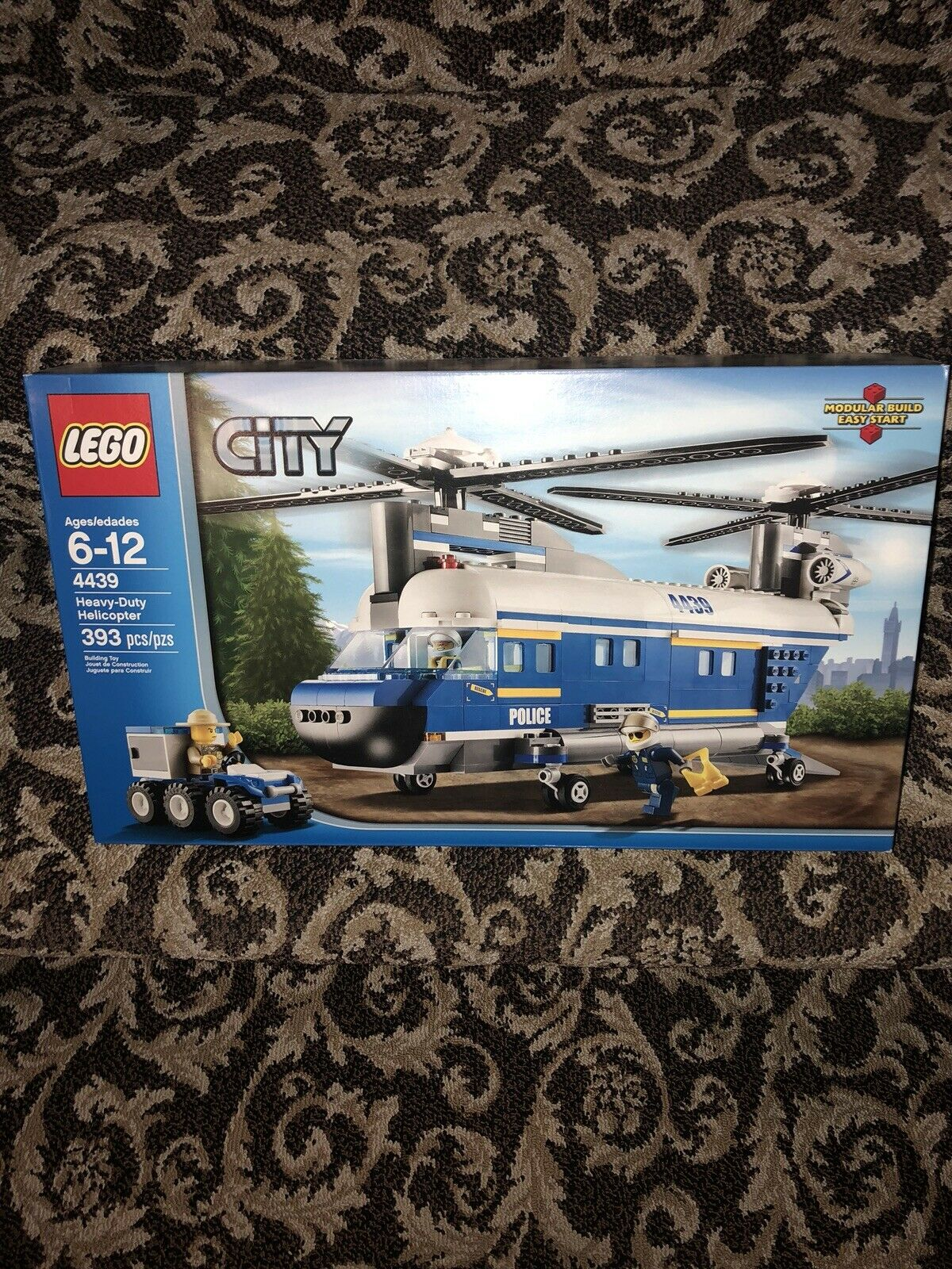 Lego City Police Heavy Duty Helicopter Set (4439) NIB