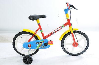 "Kenntnisreich Trail 14"" Wheel Children's Cycle Italian Made Fantastic Present Red 1g1298"