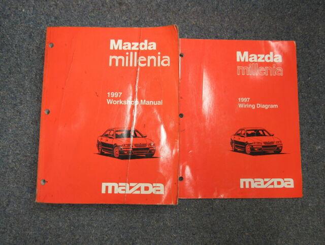 1997 Mazda Millenia Service Repair  U0026 Electrical Wiring