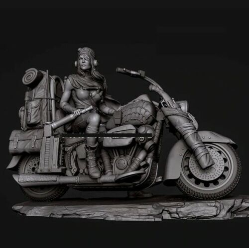 1//24 Scale Resin Figures Model Kit Desert Ranger Unpainted Unassembled Model Kit