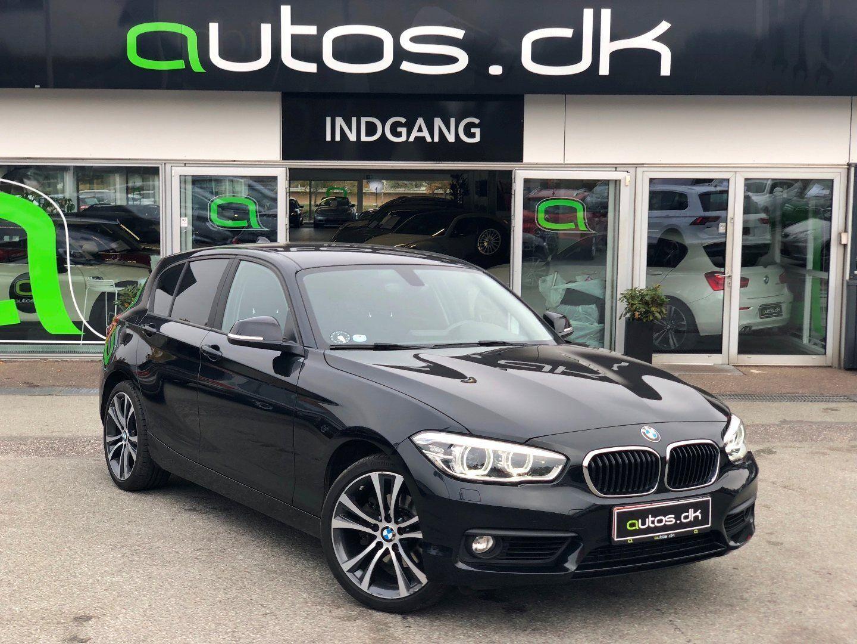BMW 120d 2,0 aut. 5d - 269.000 kr.