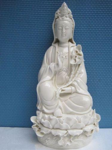Dehua Guanyin Quan Yin Kwan-yin Statue in Dehua China