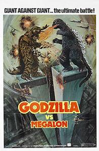A4-Print-Godzilla-vs-Megalon-1973-Movie-Film-Picture-Poster-Art-King-Kong