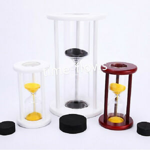 Wood-Sand-Glass-Clock-Hourglass-Timer-Empty-Put-Your-Own-Wedding-Ceremony-Sand
