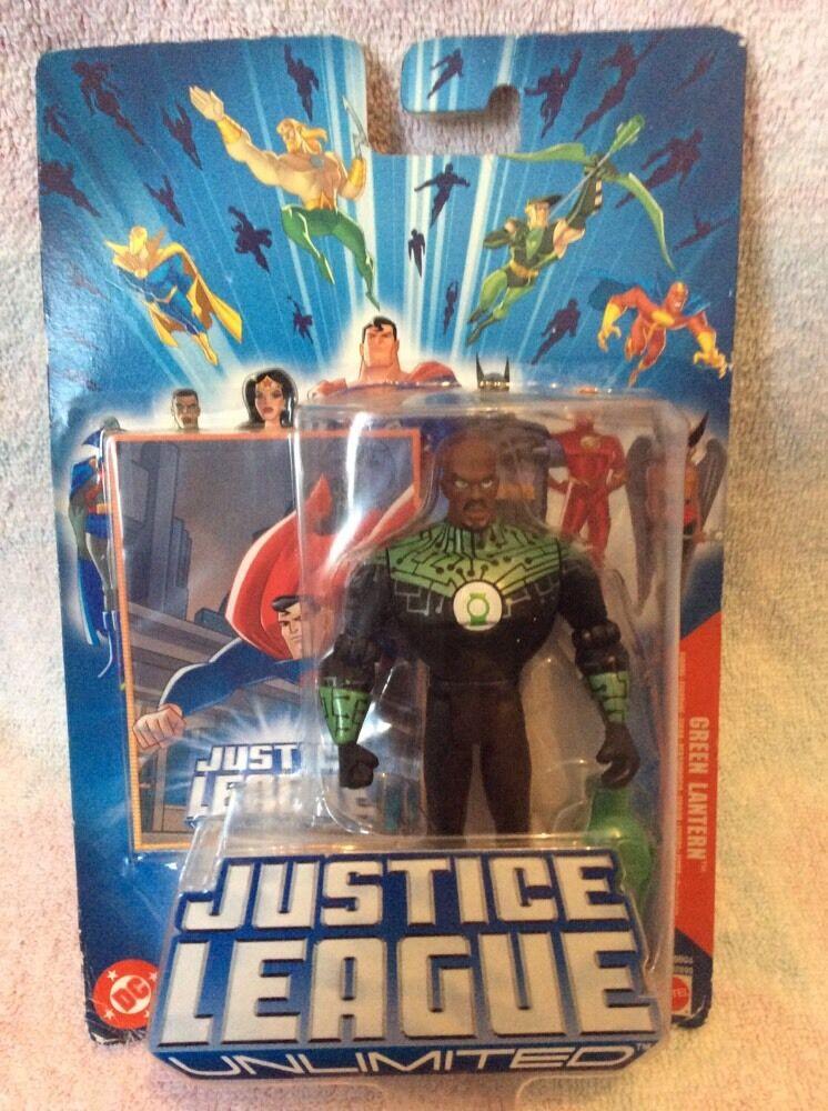 2004 rare justice league unlimited figure Grün lantern