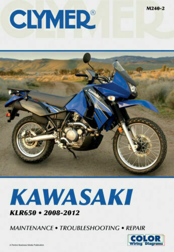 Clymer Service Repair Book Manual Kawasaki Klr650 Klr 650