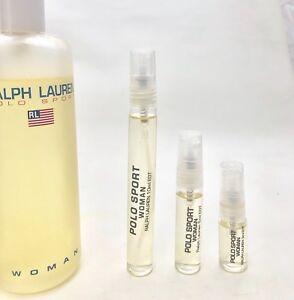 POLO-SPORT-WOMAN-Ralph-Lauren-EDT-3-5-10ml-New-Mini-Perfume-Spray-DECANTED-READ