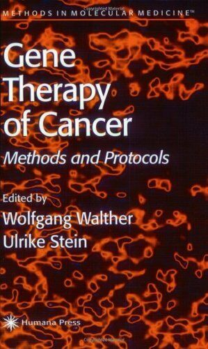 Gene Therapy of Cancer : Methods and Protocols Paperback Wolfgang Walther
