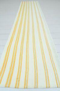 "Vintage Turkish Kilim Runner Long Rug Carpet Runner 26""X111"" Hallway Corridor"