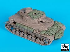Black Dog 1/35 Panzer III Sandbag Armor & Accessories Set WWII (Italeri) T35159