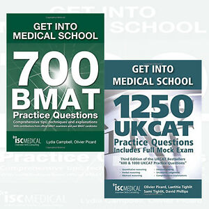 Details about Get into Medical School Collection 2 Books Set 1250 UKCAT  Practice Questions New