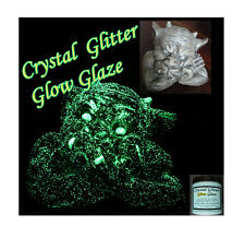 Crystal Glow Glaze craft hobby paint 250ml, glow in the dark starry 3D effect!