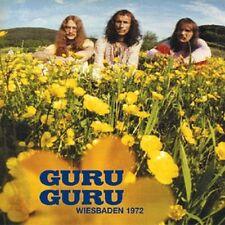 GURU GURU: Wiesbaden 1972; only three very long tracks, mediocre sound, great gu