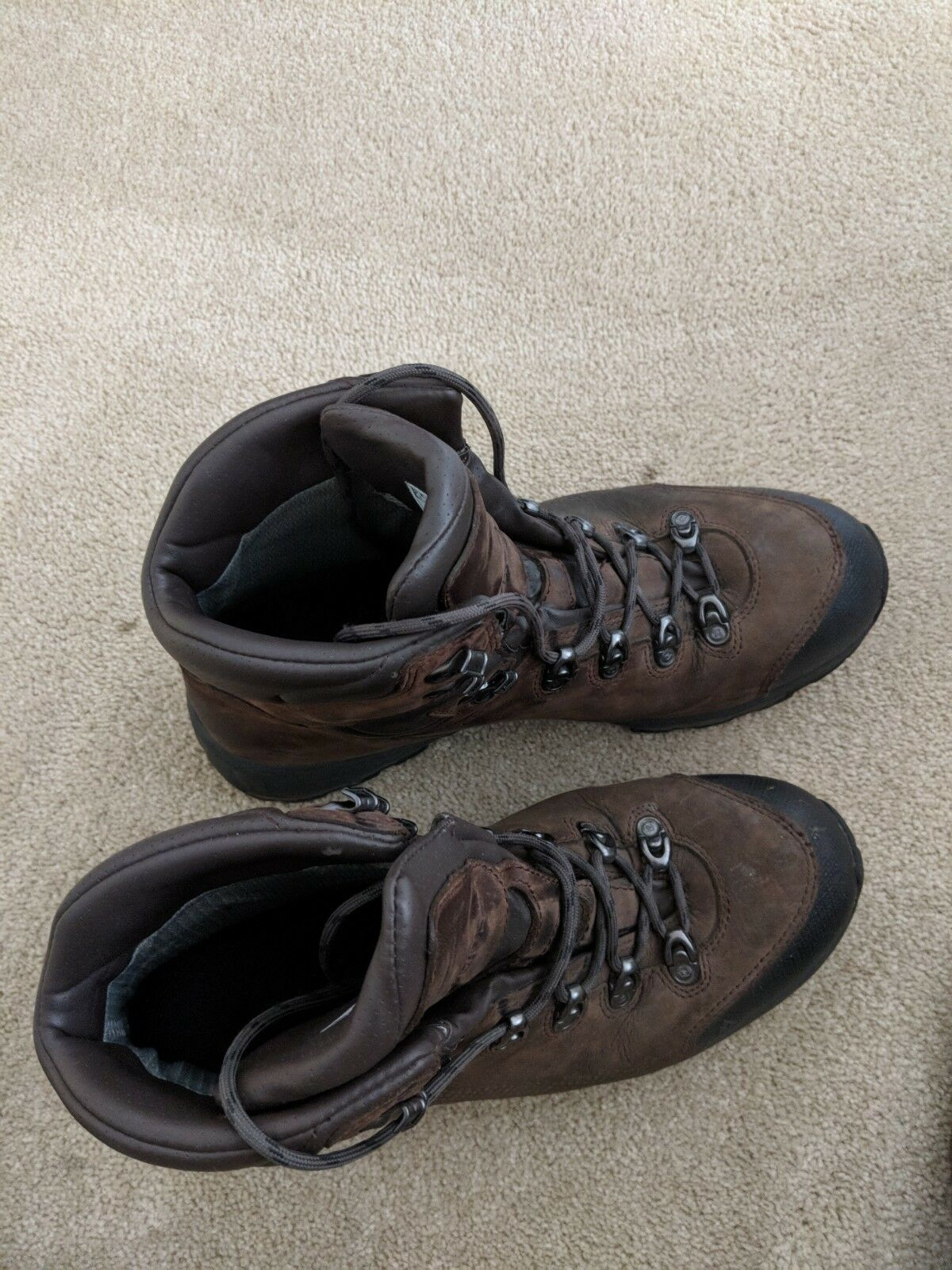 Hiking Boots, Men's, Brown Leather, Vasque, size 10.5