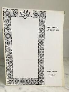 Catalogue Di Vendita Orafo Vintage Sala N°8 17 Febbraio 1975
