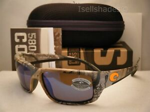 3e483370fb Costa Fantail Realtree Xtra Camo w Blue 580G lens NEW Sunglasses ...