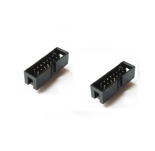 10PCS 2.54mm 2x8 Pin 16PIN Straight Box Header Shrouded header IDC Male Socket K