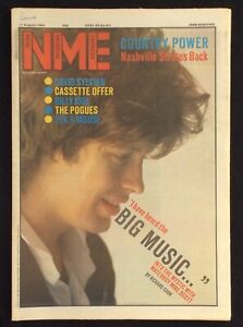 NME-11-August-1984-Mike-Scott-David-Sylvian-Billy-Idol-Pogues-Eek-a-Mouse