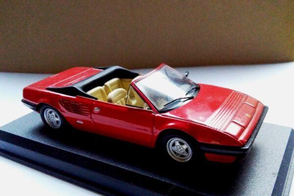 - Ferrari (1980) Mondial Cabrio Rosso Red - 1:43 Piccolo Difetto Small Flaw