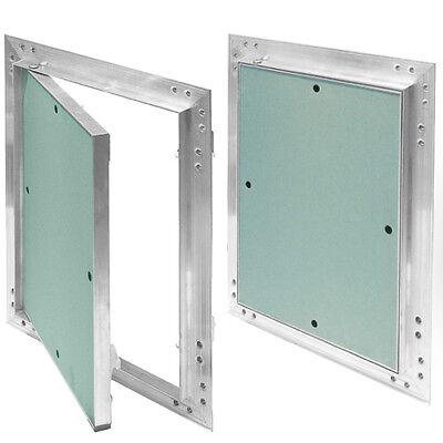 Revisionsklappe Aluminium-Rahmen 12,5 mm GK-Einlage Gipskarton Revisionstür Alu