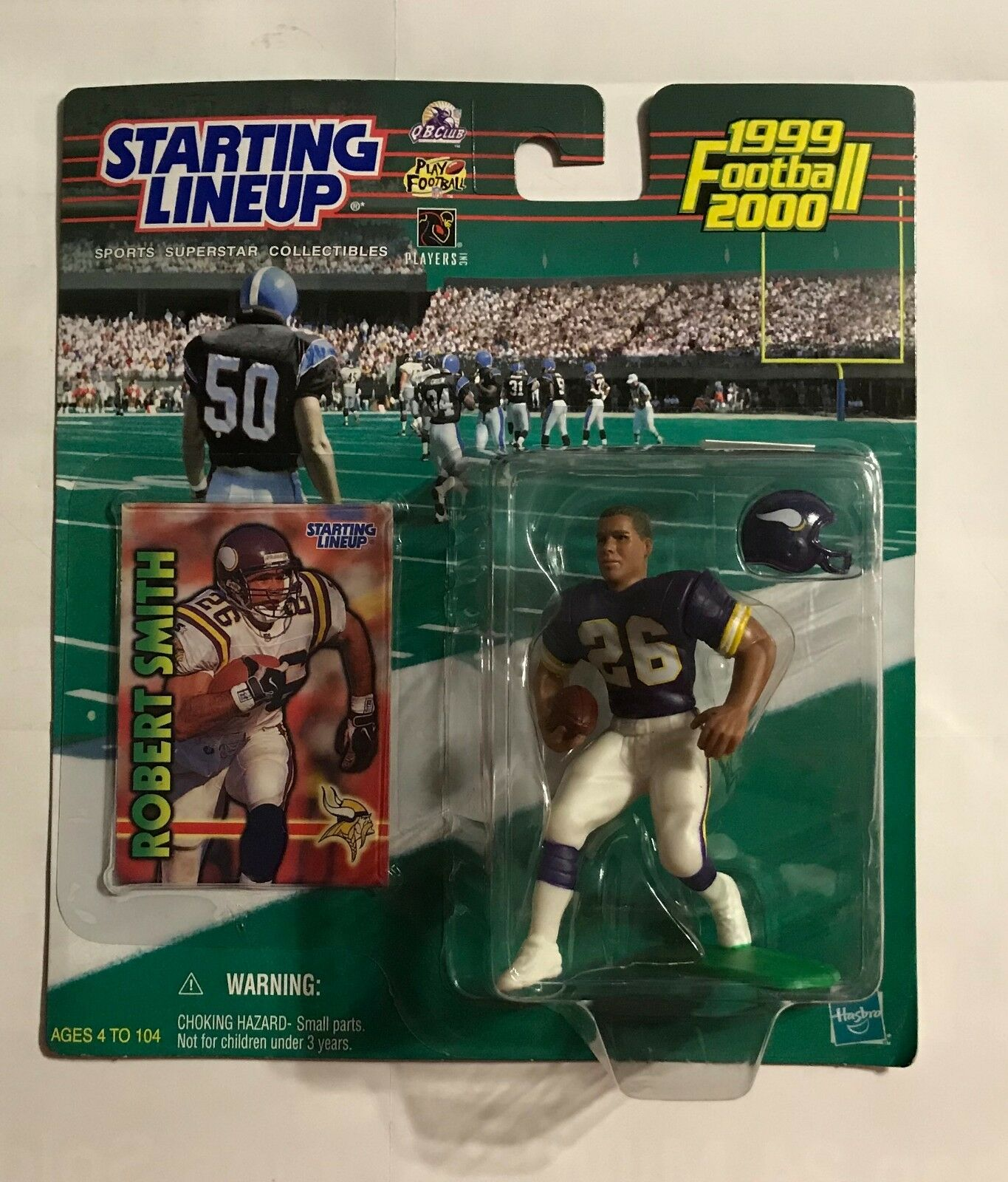 1999 2000 STARTING LINEUP - ROBERT SMITH - ACTION FIGURE