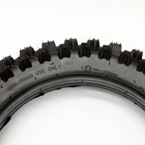 """80//100-12 3.00-12/"""" Rear Back Knobby Tyre Tire+Inner Tube Pit Pro Trail Dirt Bike"""