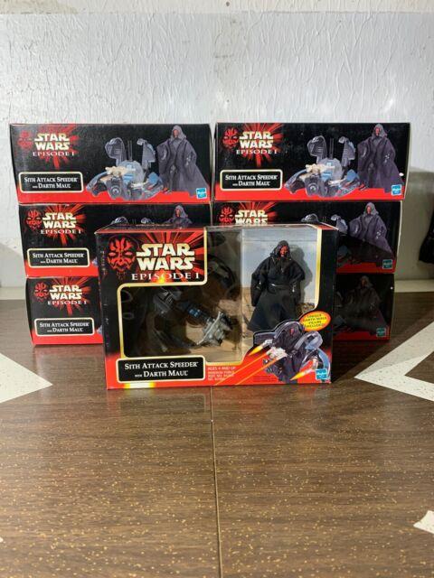 1 Hasbro Star Wars Episode 1 Sith Attack Speeder w/ Darth Maul (7 Available)