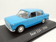 COCHE SEAT 124 1/43 1:43 AÑO 1968  fiat RBA METAL MODEL CAR MINIATURA alfreedom
