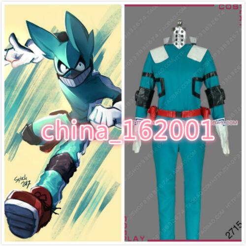 new!My Hero Academia Deku Boku no Hero Academia Izuku Midoriya Cosplay Costume