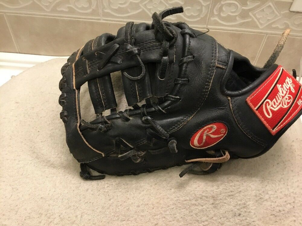 Rawlings ggdctb Negro 13  béisbol Softbol First Base Mitt Left Hand Throw