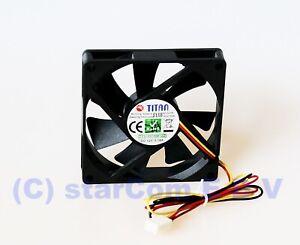 80x80x15-mm-PC-CPU-Kuehler-Gehaeuse-Luefter-15mm-flach-80mm-Titan-TFD8015M12Z-12V