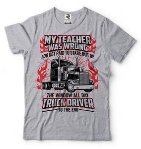 4d027eaba Truck Driver T-shirt Funny Trucker Tee Shirt Truck Tee Shirt Funny ...