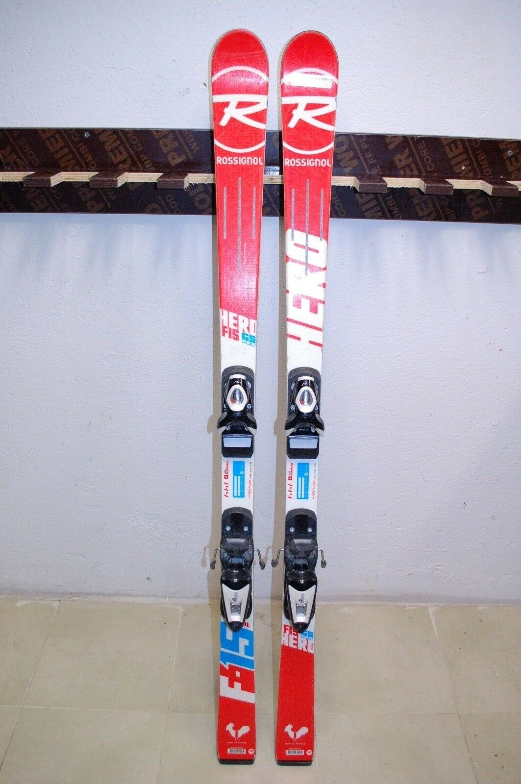 Rossignol Rossignol Rossignol Hero FIS GS Pro 144 cm Ski + Rossignol Axium 7 Bindings 0d2575