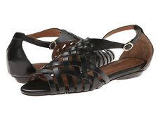 Corso Como Everly Black Huarache Flat Sandal 8