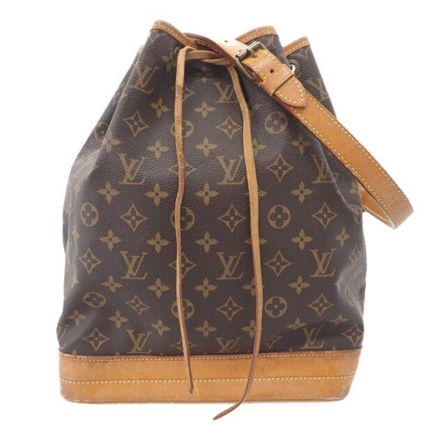 LOUIS VUITTON Monogram  Noe Shoulder Bag  M42224 Brown
