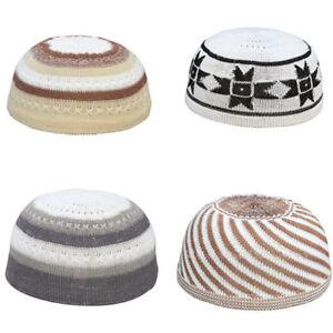 Men-039-s-Muslim-Koofi-Cap-Hats-Men-Prayer-Islam-Egyptian-Kufi-Topi-Accessories