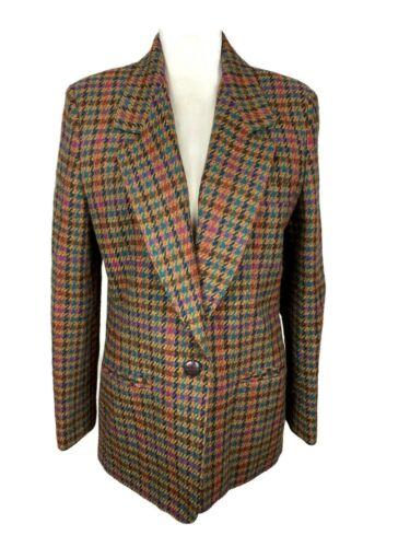 Vintage Clothing, Houndstooth Blazer, 70's Clothin