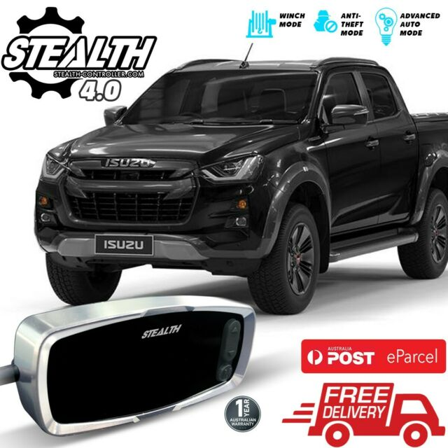 Stealth Throttle Controller 4.0 for ISUZU D-Max 2012 - 2020 All Engines