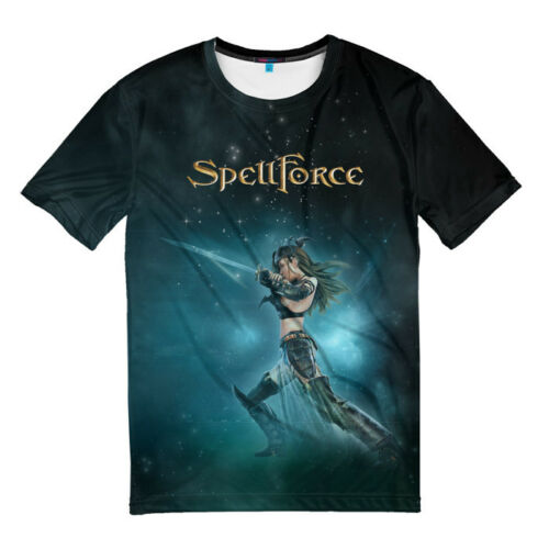 T-shirt fullprint SpellForce
