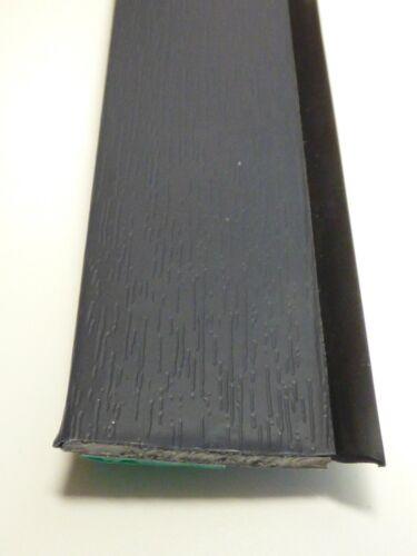 """/""""4,41€//m/"""" 50mm Anthrazitgrau 7016  Flachleiste Fensterleiste MIT LIPPE"""