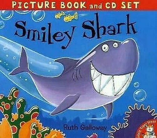 Smiley Shark Compact Disc Ruth Galloway, Forensic