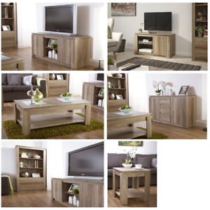 Oak Contemporary Living Room Furniture