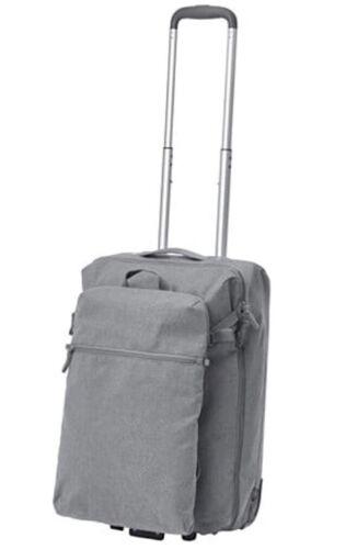 Léger à Roues Carry on Bagage Cabine Étui Avec Amovible Sac à dos
